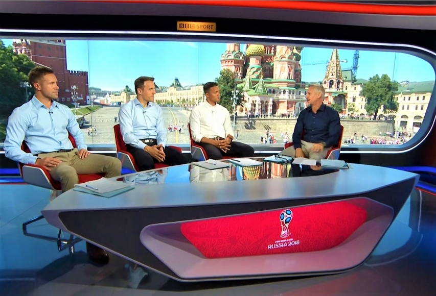 BBC World Cup Desk Studio